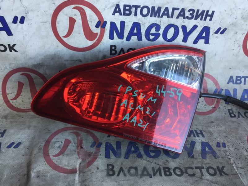 Стоп-вставка Toyota Ipsum ACM21 задняя правая 4459