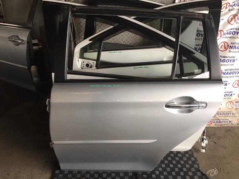 Дверь Toyota Corolla Fielder ZRE162 задняя левая COLOR 1F7