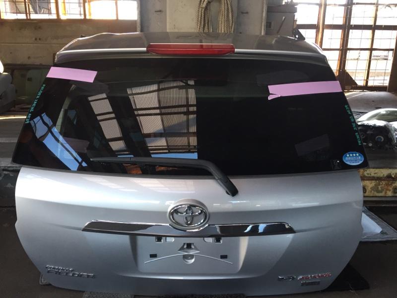 Дверь 5-я Toyota Corolla Fielder ZRE162 задняя COLOR 1F7