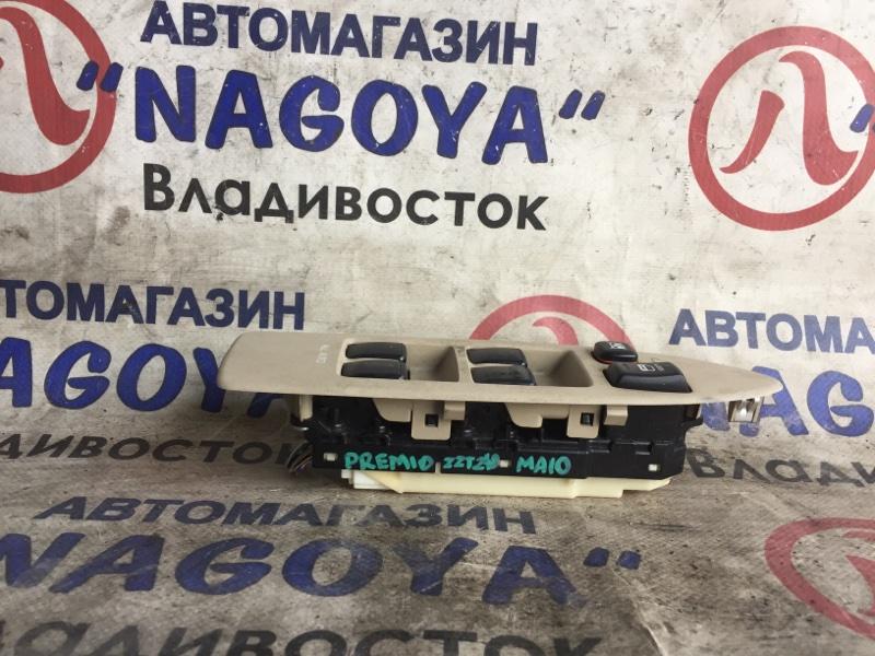 Блок упр. стеклоподьемниками Toyota Premio ZZT240 передний правый