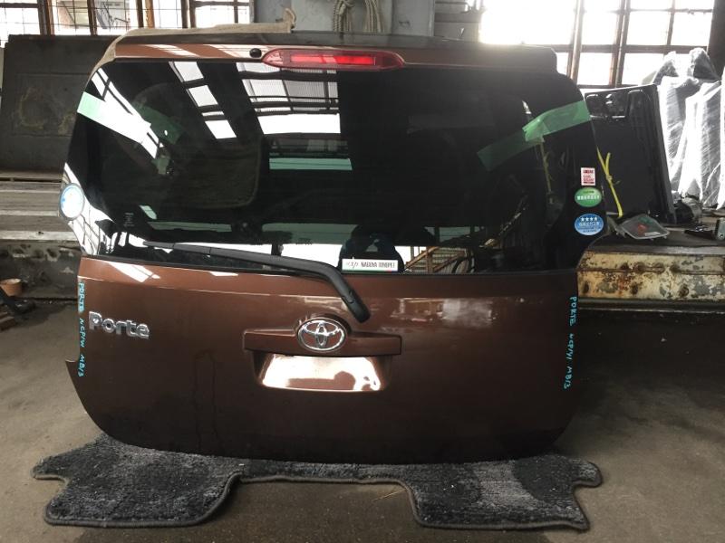 Дверь 5-я Toyota Porte NCP141 задняя