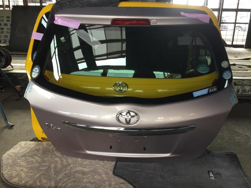 Дверь 5-я Toyota Vitz KSP130 задняя COLOR 3P3