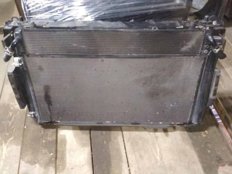 Радиатор основной Toyota Estima AHR20 2AZ-FXE