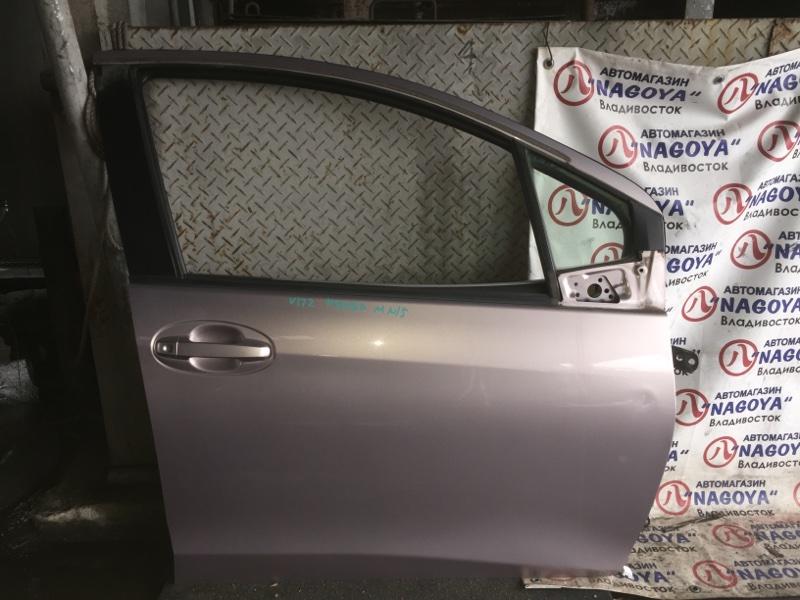 Дверь Toyota Vitz KSP130 передняя правая COLOR 3P3