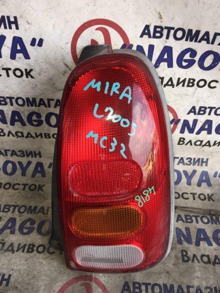 Стоп-сигнал Daihatsu Mira L700S задний правый 4818