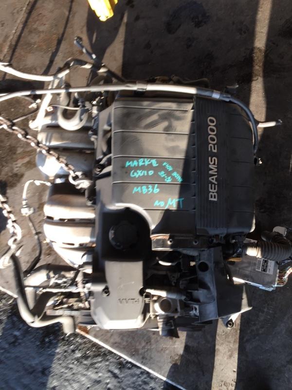 Двигатель Toyota Markii GX110 1G-BEAMS 7026275