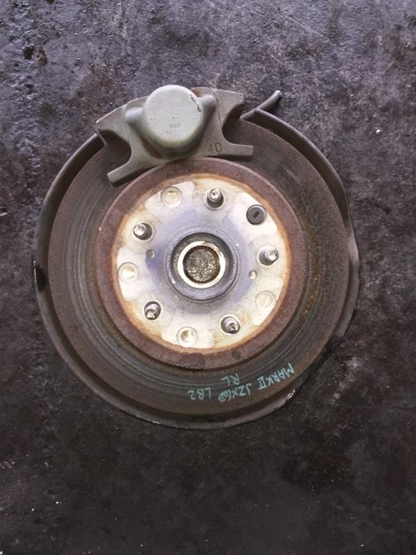 Ступица Toyota Markii JZX110 задняя левая