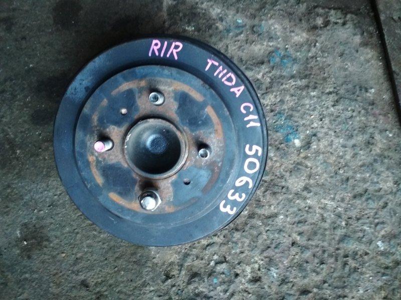 Ступица Nissan Tiida C11 задняя правая ABS