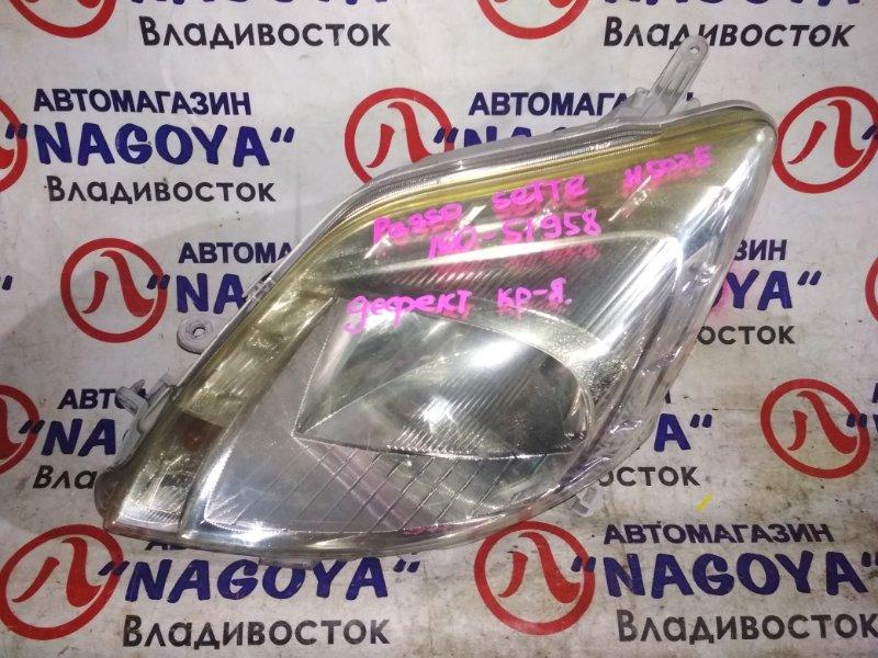 Фара Toyota Passo Sette M502E передняя левая 100-51958