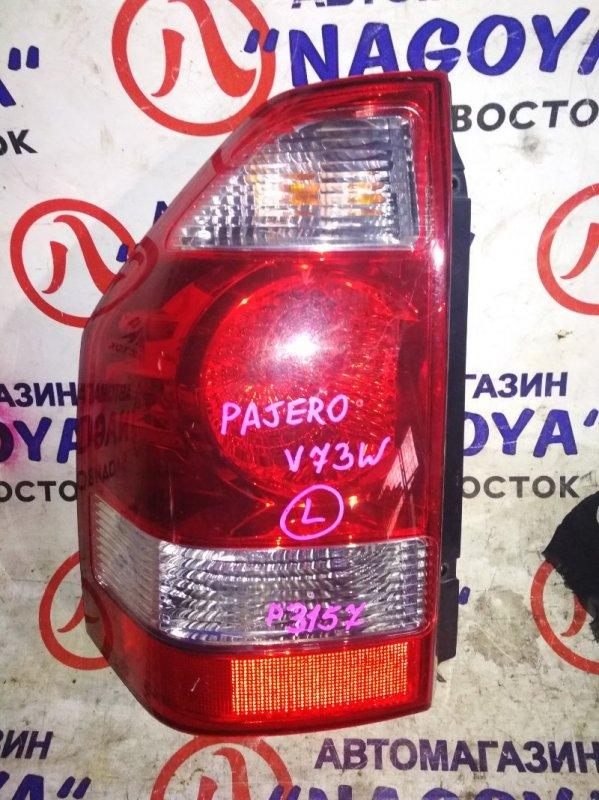 Стоп-сигнал Mitsubishi Pajero V73W задний левый P3157