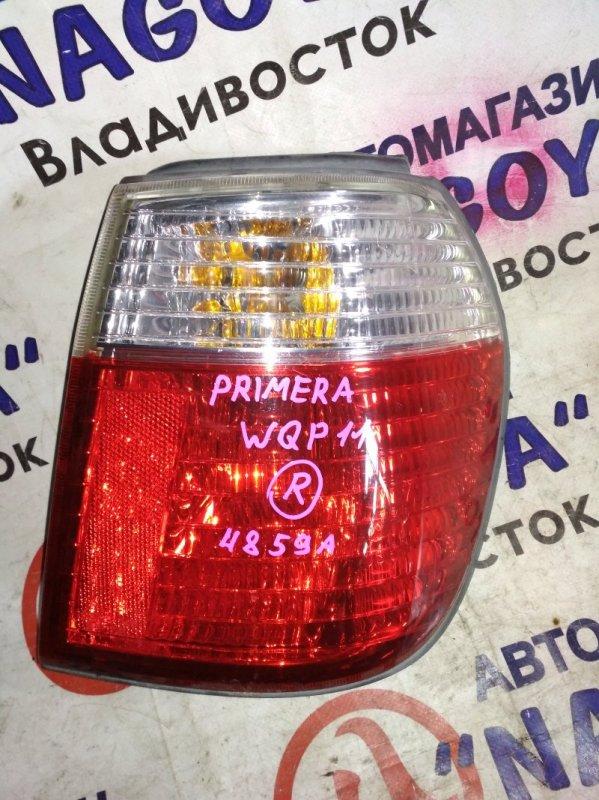Стоп-сигнал Nissan Primera WQP11 задний правый 4859A