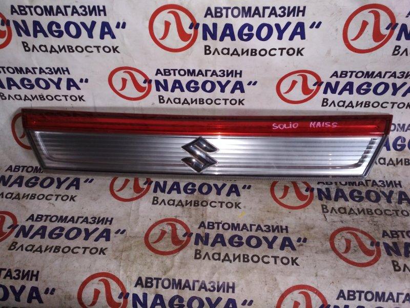 Стоп-вставка Suzuki Solio MA15S задняя 83940-54M