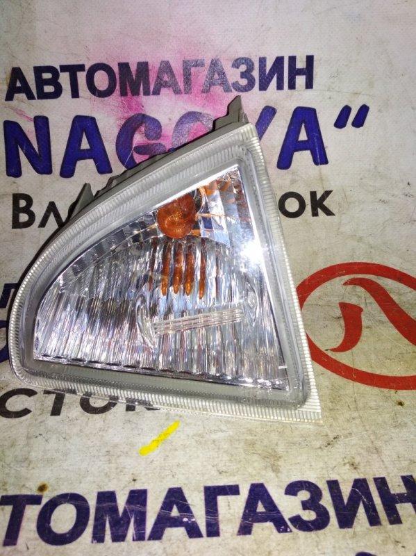 Повторитель бамперный Toyota Aqua NHP10 передний левый 52250