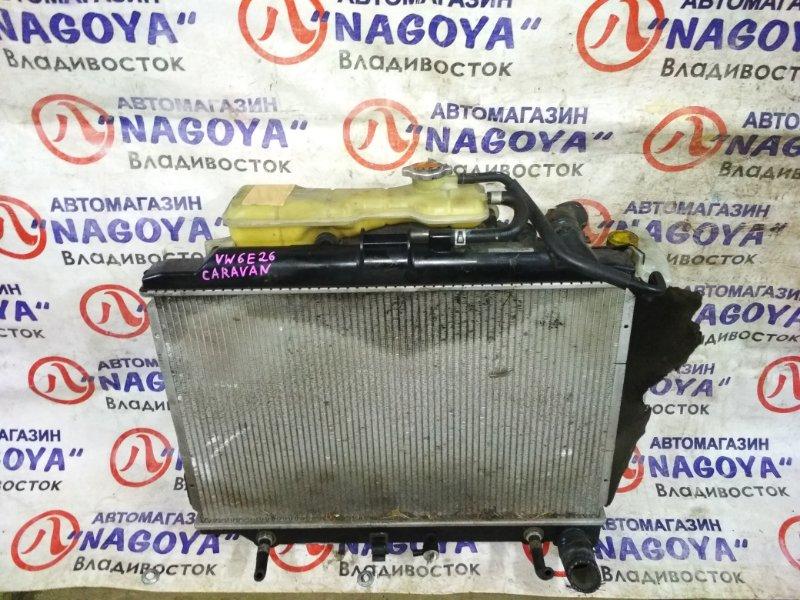Радиатор основной Nissan Caravan VW6E26 YD25DDTI A/T