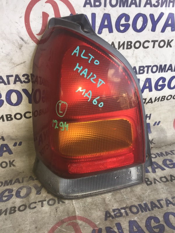 Стоп-сигнал Suzuki Alto HA12V задний левый 35603-76G0