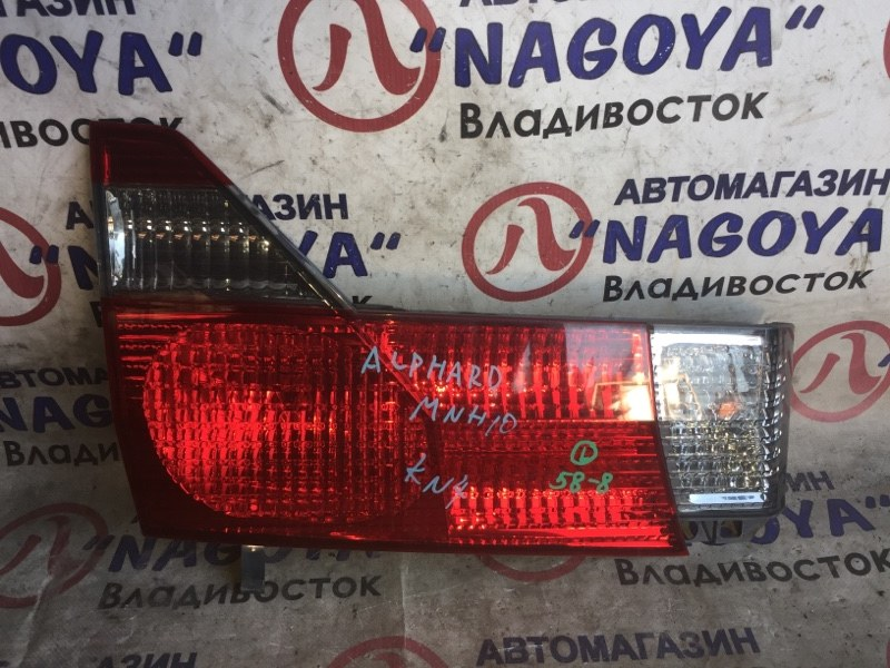 Стоп-вставка Toyota Alphard MNH10 задняя левая 58-8