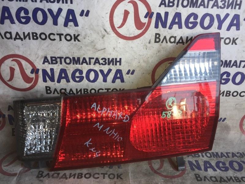 Стоп-вставка Toyota Alphard MNH10 задняя правая 58-8