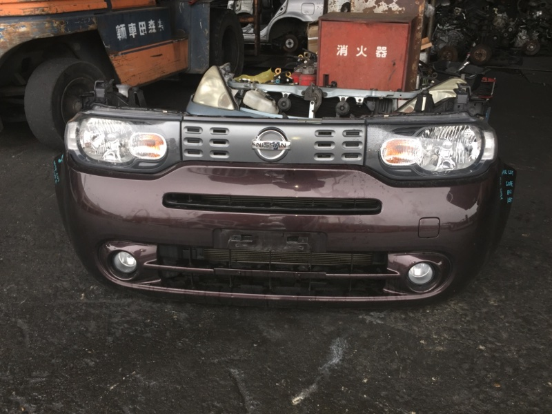 Nose cut Nissan Cube Z12 HR15DE передний P8191