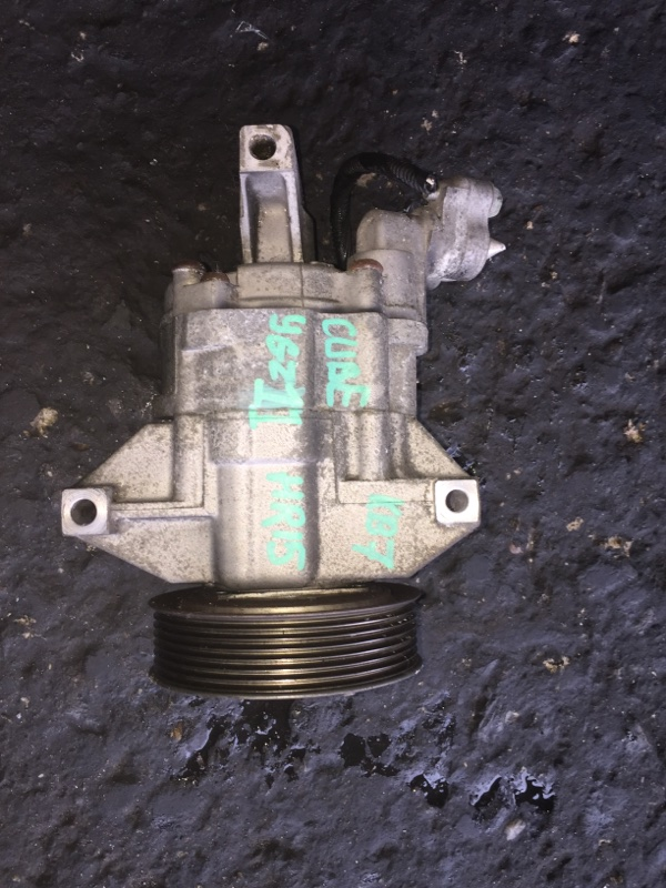 Компрессор кондиционера Nissan Cube YGZ11 HR15DE