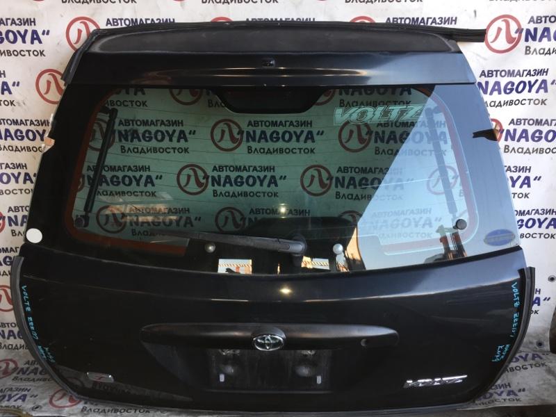 Дверь 5-я Toyota Voltz ZZE137 задняя