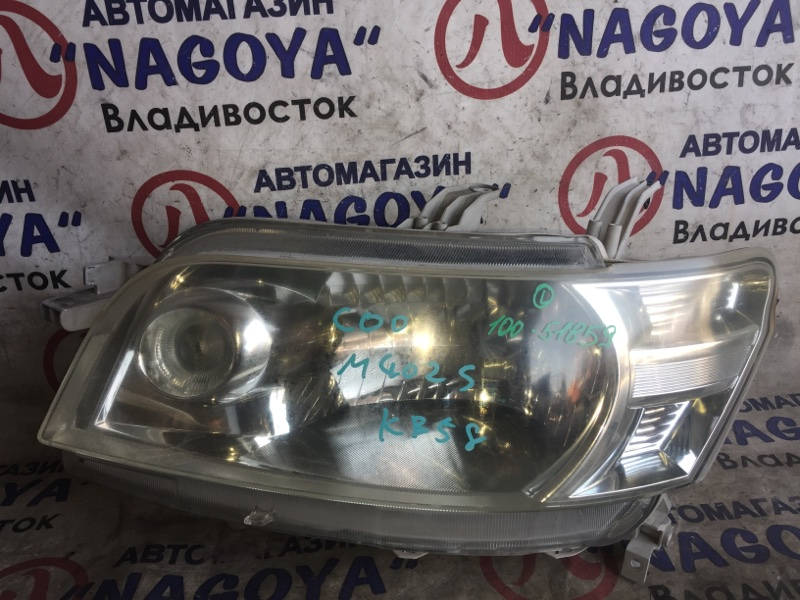 Фара Daihatsu Coo M402S передняя левая 100-51859