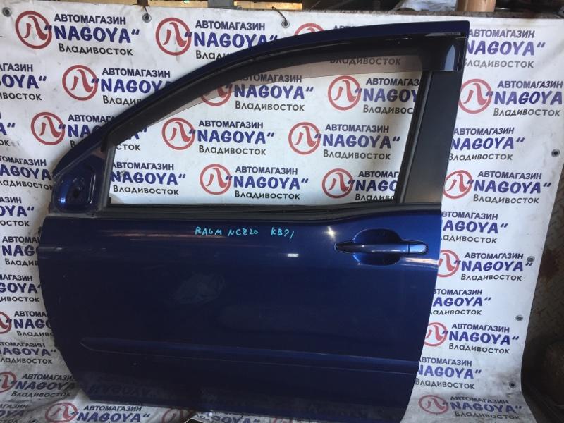 Дверь Toyota Raum NCZ20 передняя левая