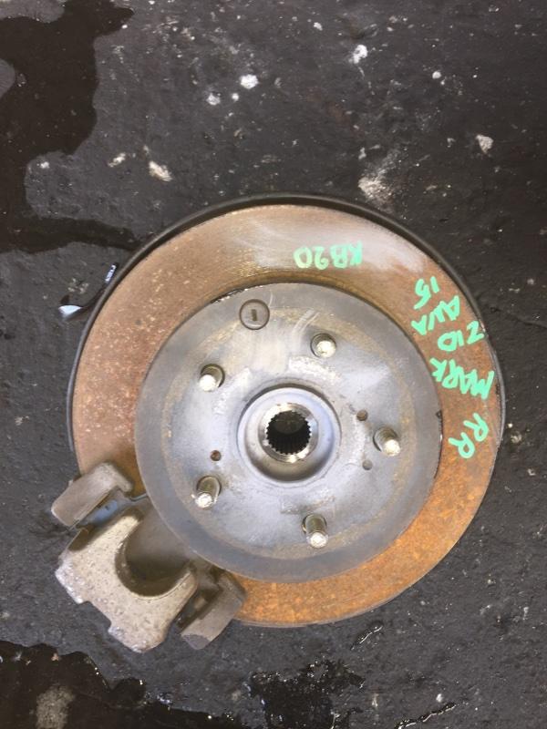 Ступица Toyota Mark X Zio ANA15 задняя правая ABS