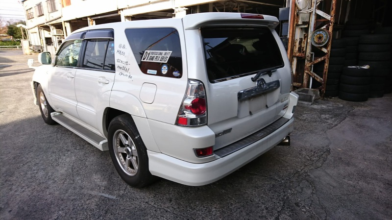 Подножка Toyota Hilux Surf VZN215 правая AERO