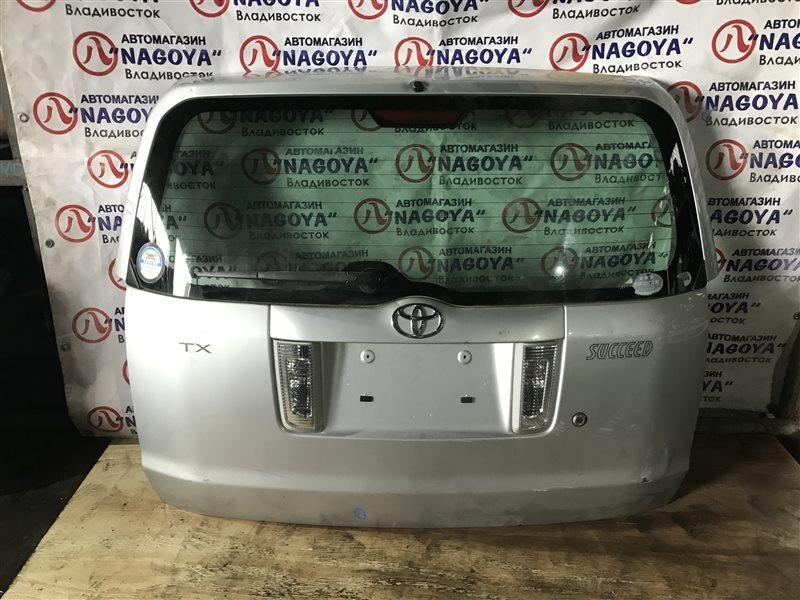 Дверь 5-я Toyota Succeed NCP51 задняя