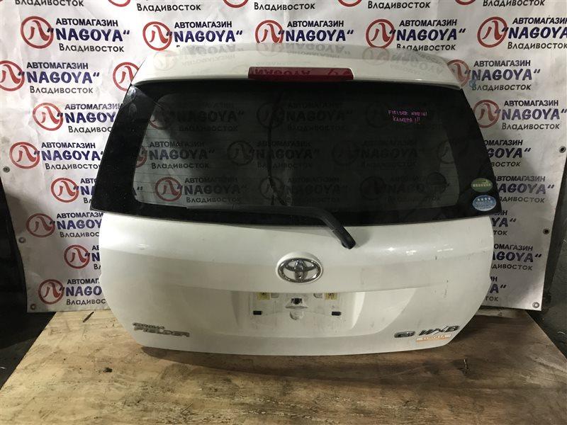 Дверь 5-я Toyota Corolla Fielder NZE161 задняя 1 MODEL
