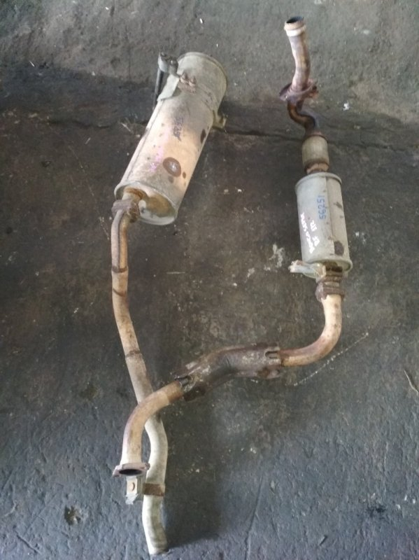 Глушитель Mazda Bongo SEF8T RF
