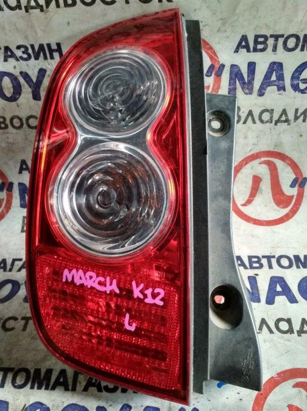 Стоп-сигнал Nissan March AK12 задний левый D019