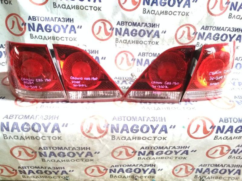 Стоп-сигнал Toyota Crown Athlete GRS180 задний 30309/30310