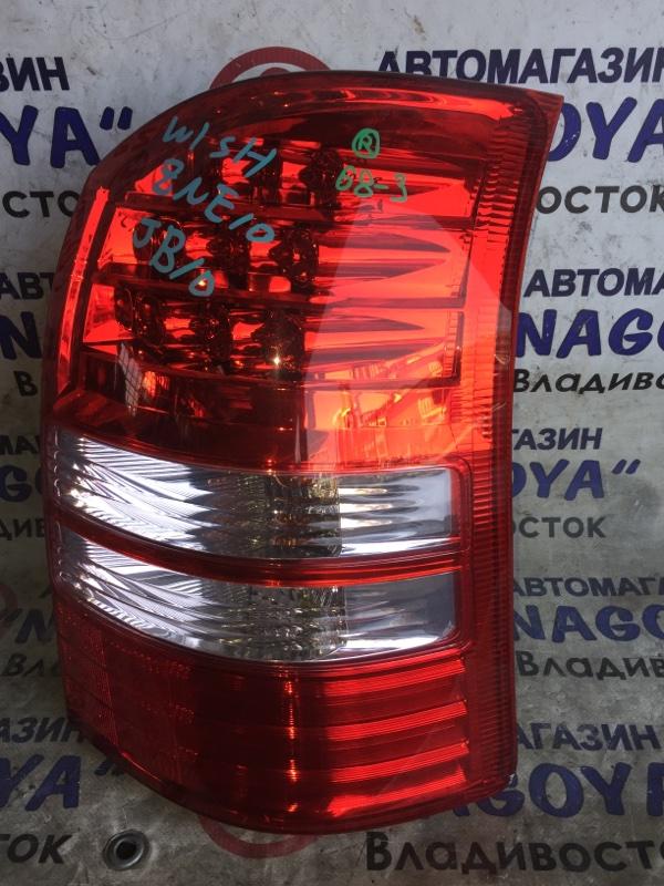 Стоп-сигнал Toyota Wish ZNE10 задний правый 68-3