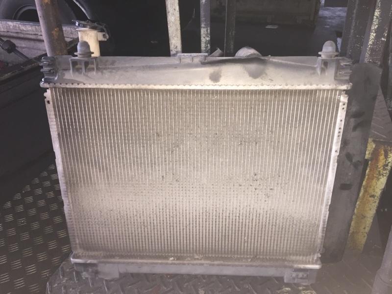 Радиатор основной Toyota Vitz NCP91 1NZ-FE A/T
