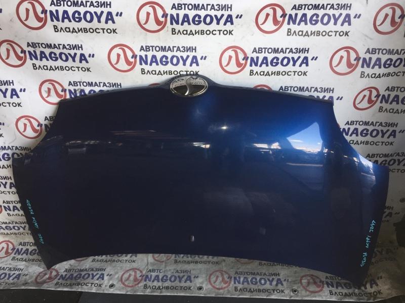 Капот Toyota Sienta NCP81 передний