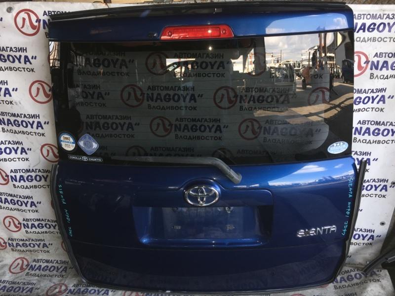 Дверь 5-я Toyota Sienta NCP81 задняя
