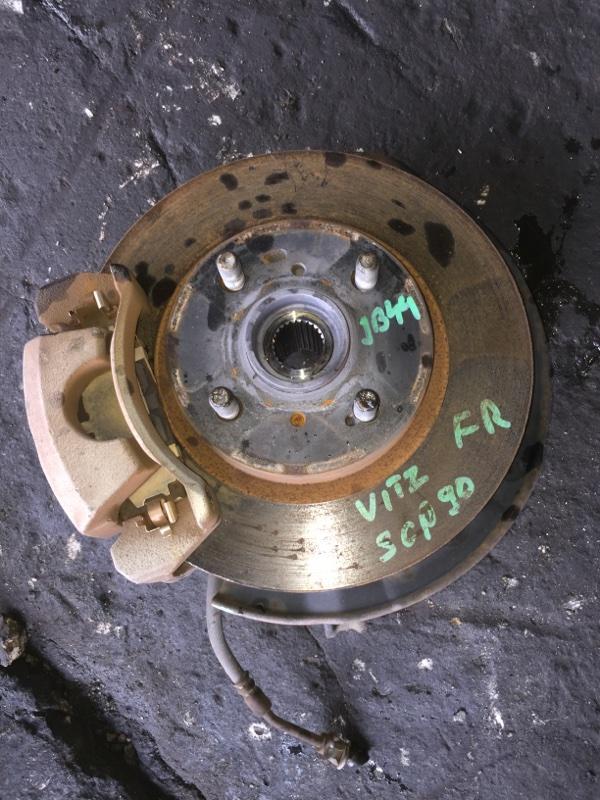 Ступица Toyota Vitz SCP90 передняя правая ABS