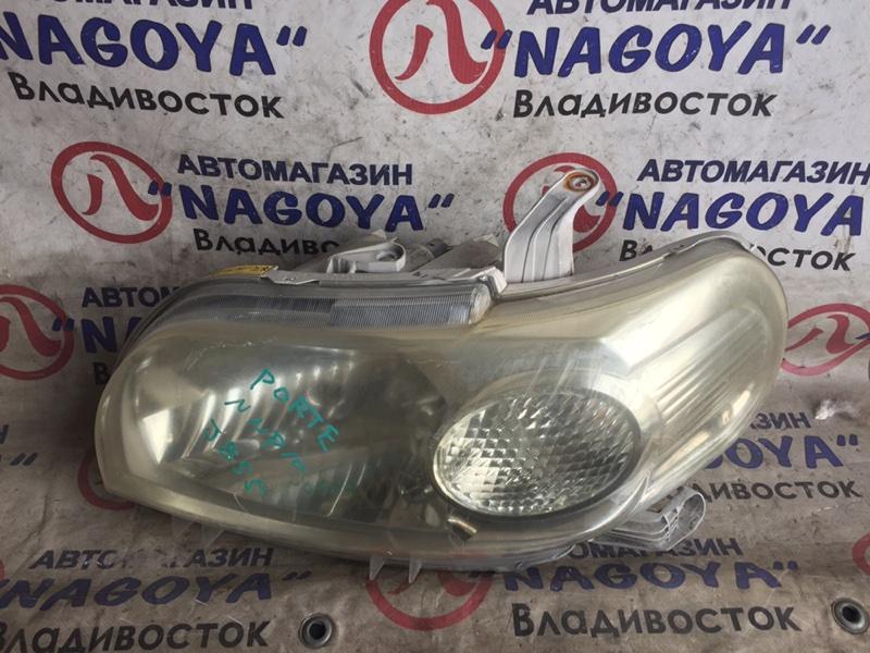 Фара Toyota Porte NNP10 передняя левая 52129