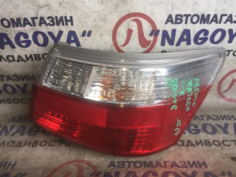 Стоп-сигнал Toyota Premio ZRT260 задний правый 20448