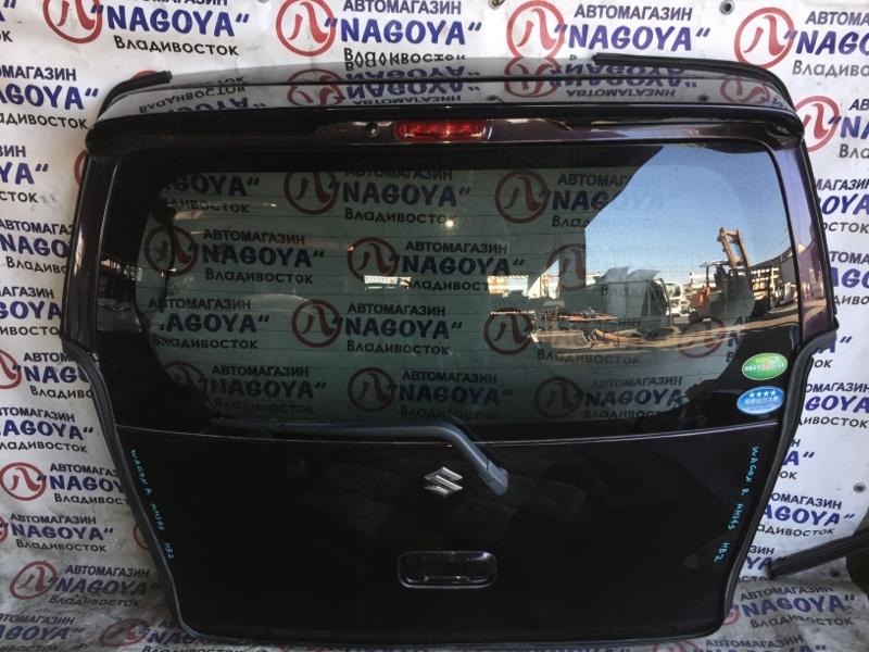 Дверь 5-я Suzuki Wagon R MH34S задняя