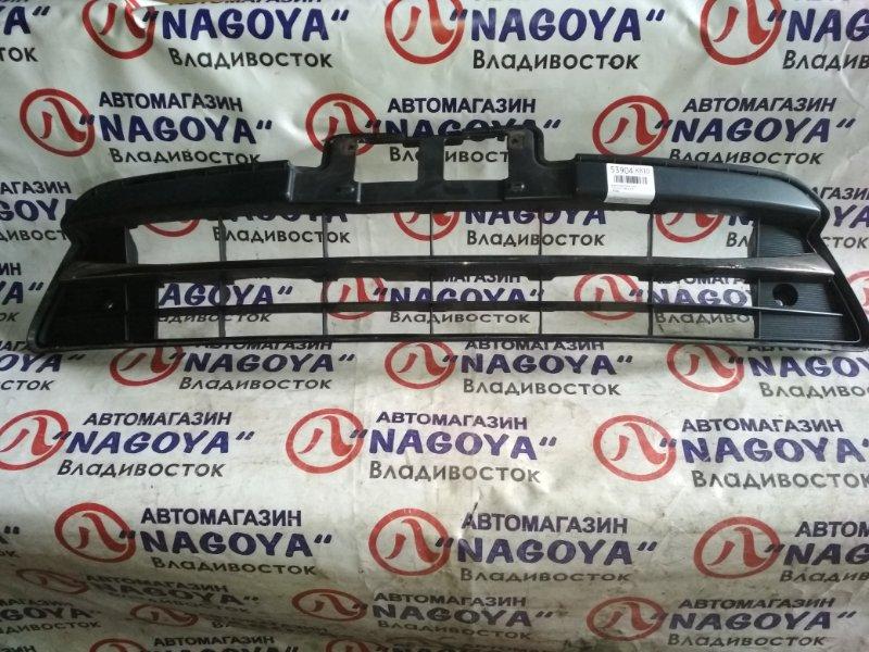Решетка бамперная Toyota Estima ACR50 передняя 53112-28120