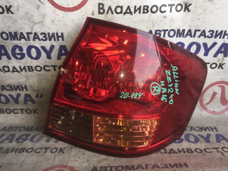 Стоп-сигнал Toyota Allion ZZT240 задний правый 20424