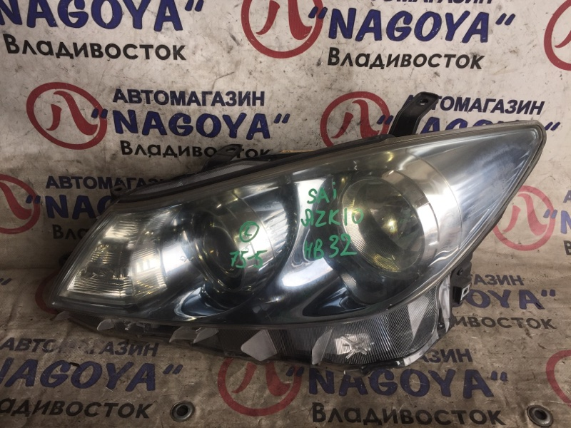 Фара Toyota Sai AZK10 передняя левая 75-5