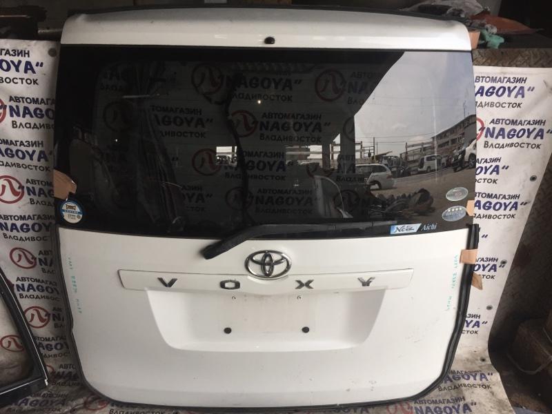 Дверь 5-я Toyota Voxy ZRR70 задняя COLOR 070