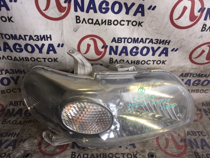 Фара Toyota Porte NNP10 передняя правая 52129