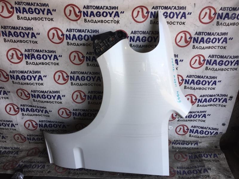 Крыло Toyota Porte NNP11 переднее левое 2 MODEL