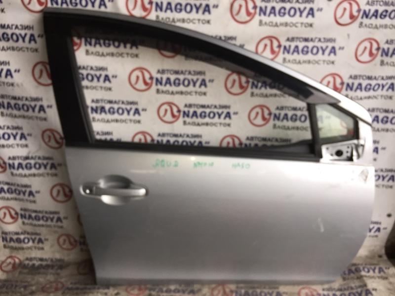 Дверь Toyota Aqua NHP10 передняя правая COLOR 1F7