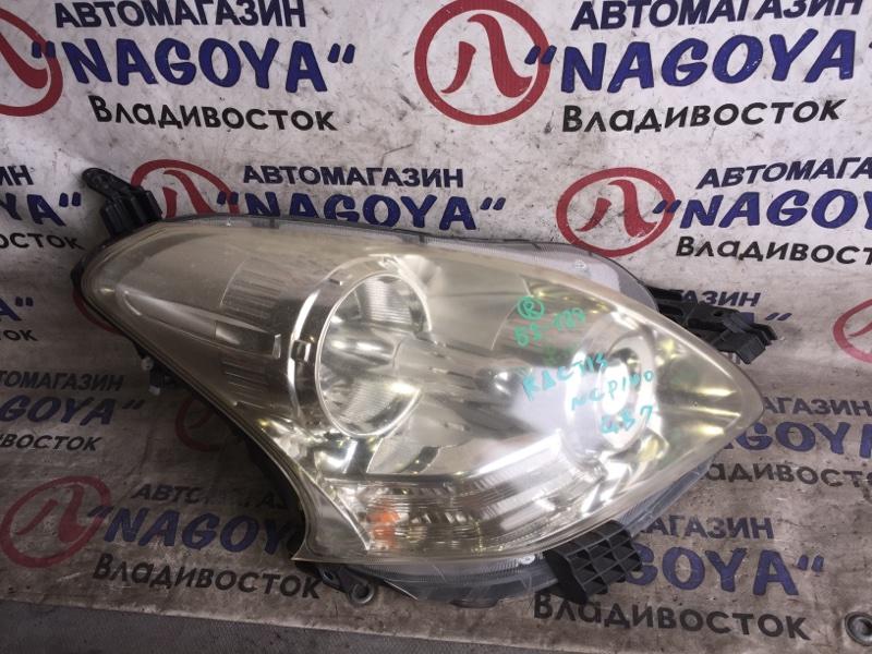 Фара Toyota Ractis NCP100 передняя правая 52189