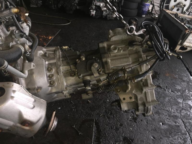 Мкпп Toyota Cami J102E K3-VE